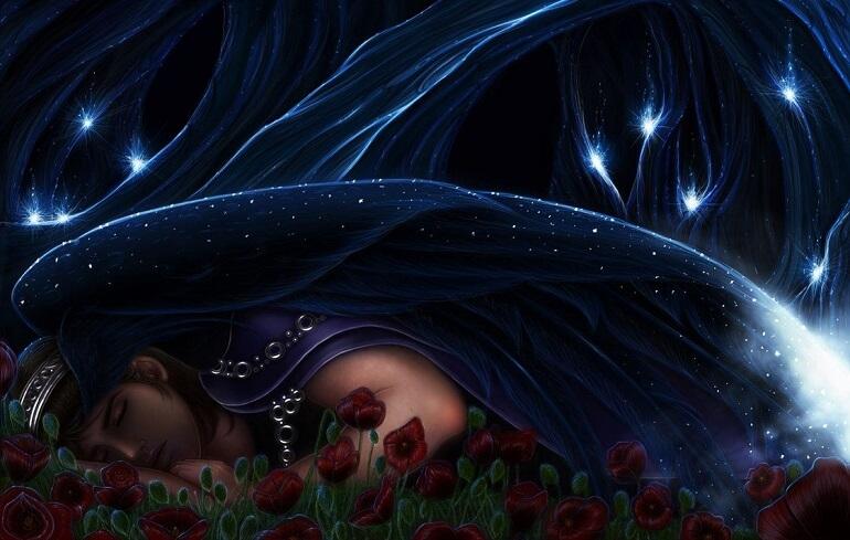 Маки и звёздное покрывало стали символом Морфея