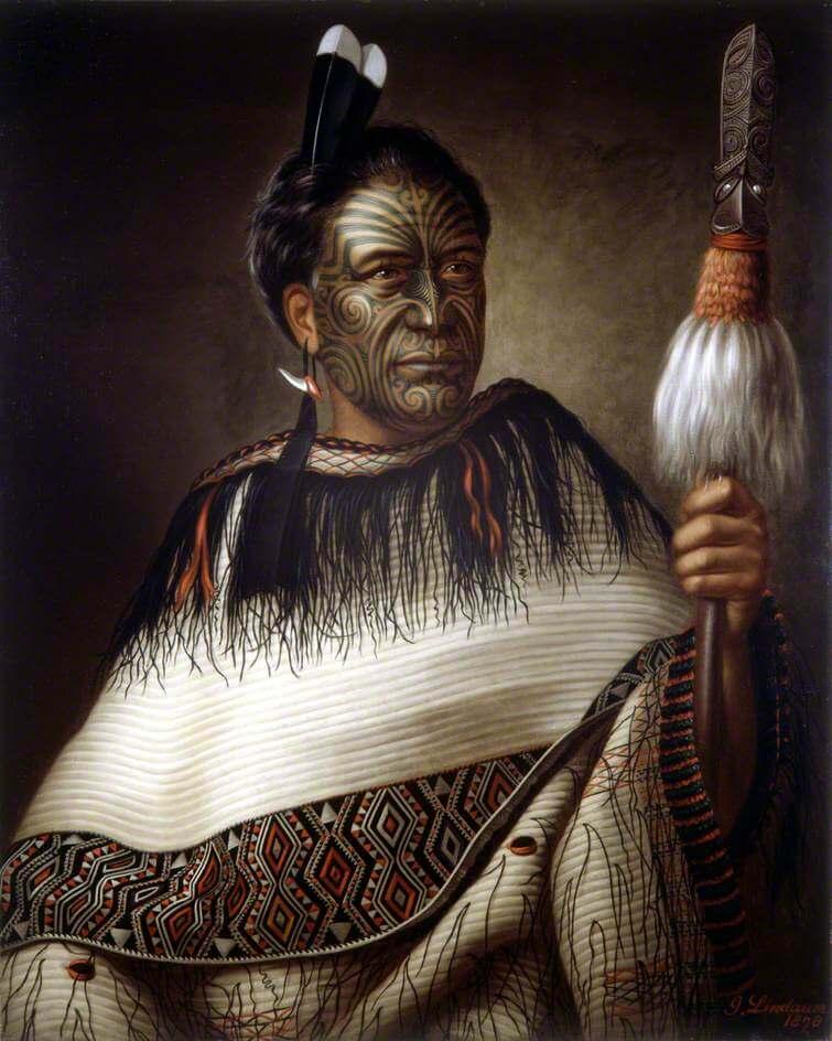 Представитель власти из племени маори