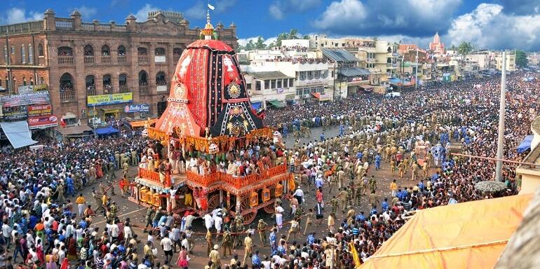Ратха-Ятра - масштабный и яркий праздник Индии
