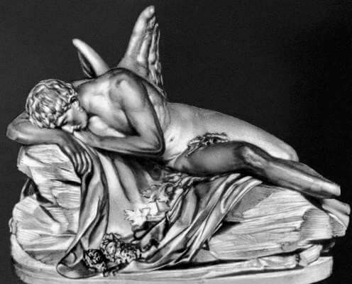 Скульптура Морфея из мрамора
