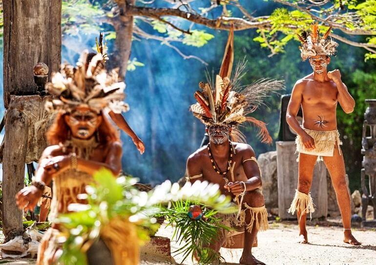 Современные араваки хранят обычаи предков