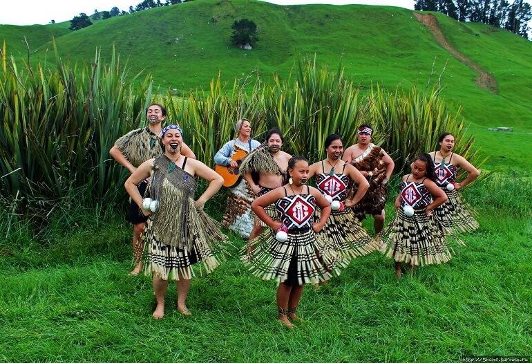 У маори немало загадочных ритуалов
