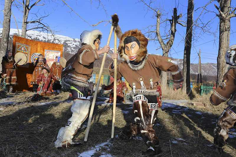 Улляун - весёлый корякский праздник
