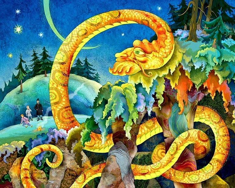 Великий Полоз - легендарный змей Урала
