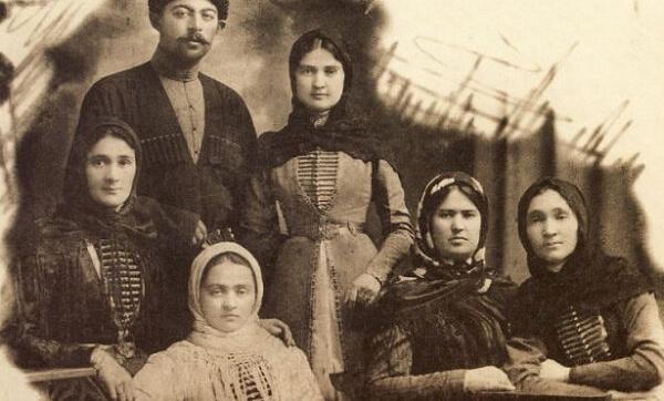 Чеченская семья