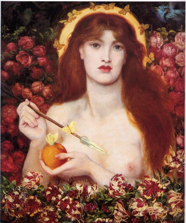 Данте Габриэль Россетти. Венера