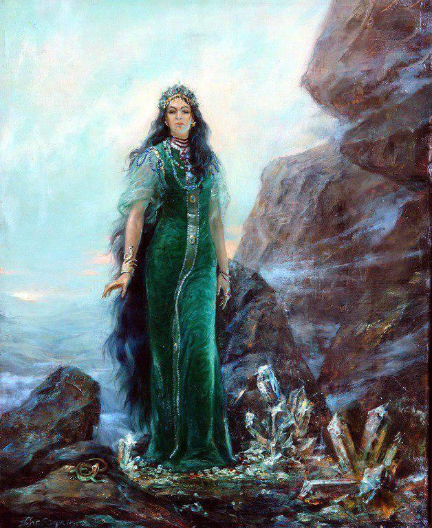 Хозяйка Медной горы была властительницей подземного царства