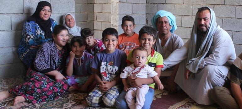 Иракская семья