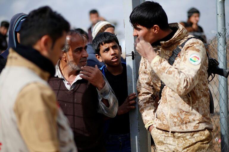 Иракцы придерживаются строгих правил в общении