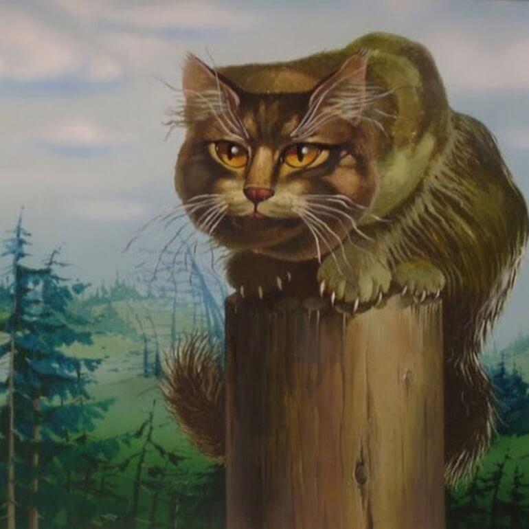 Кот-Баюн - загадочный персонаж русских сказок