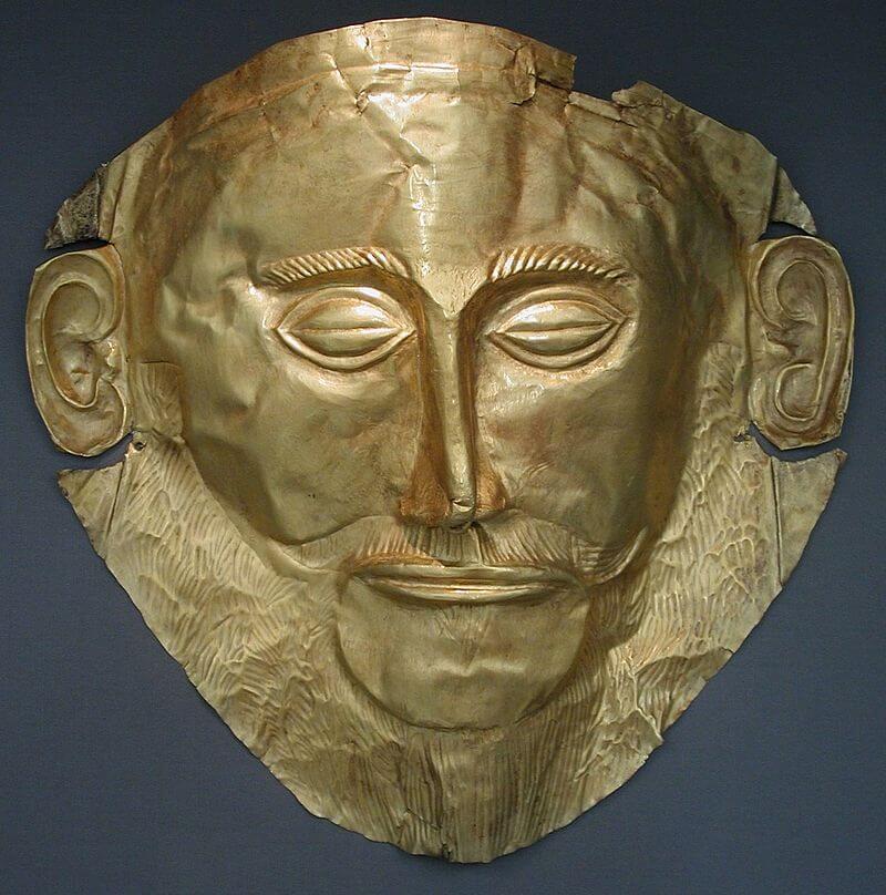 Маска Агамемнона, ахейского царя
