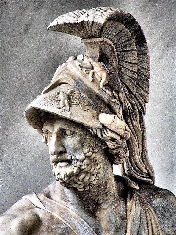 Менелай - знаменитый спартанский правитель