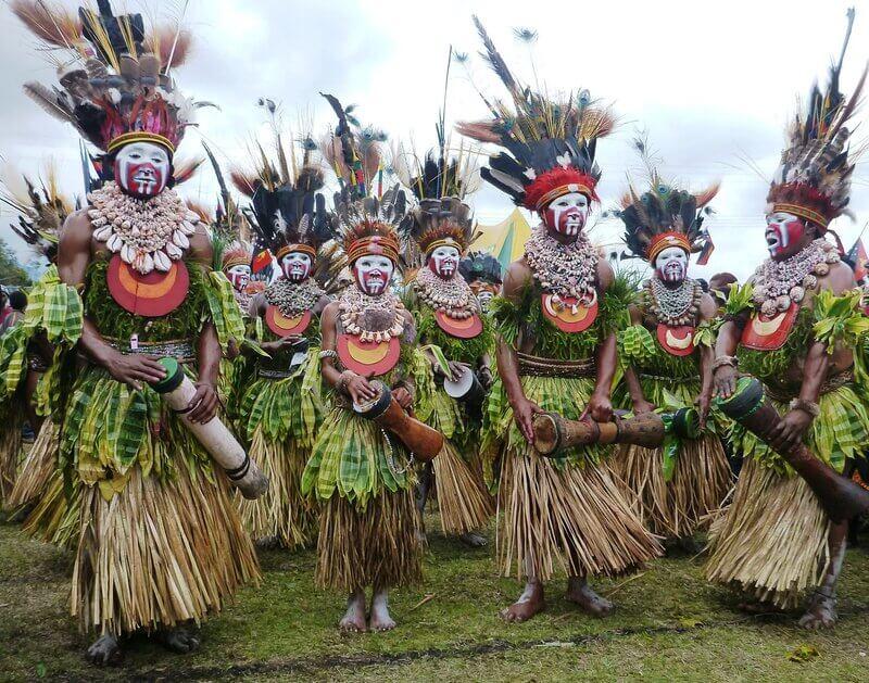 Папуасы хранят свою древнюю культуру