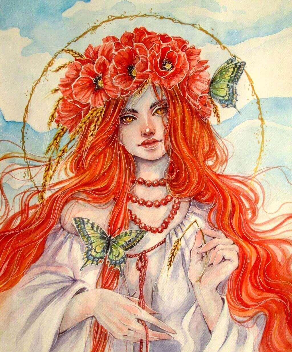 Полуденница - Doringota Redhead