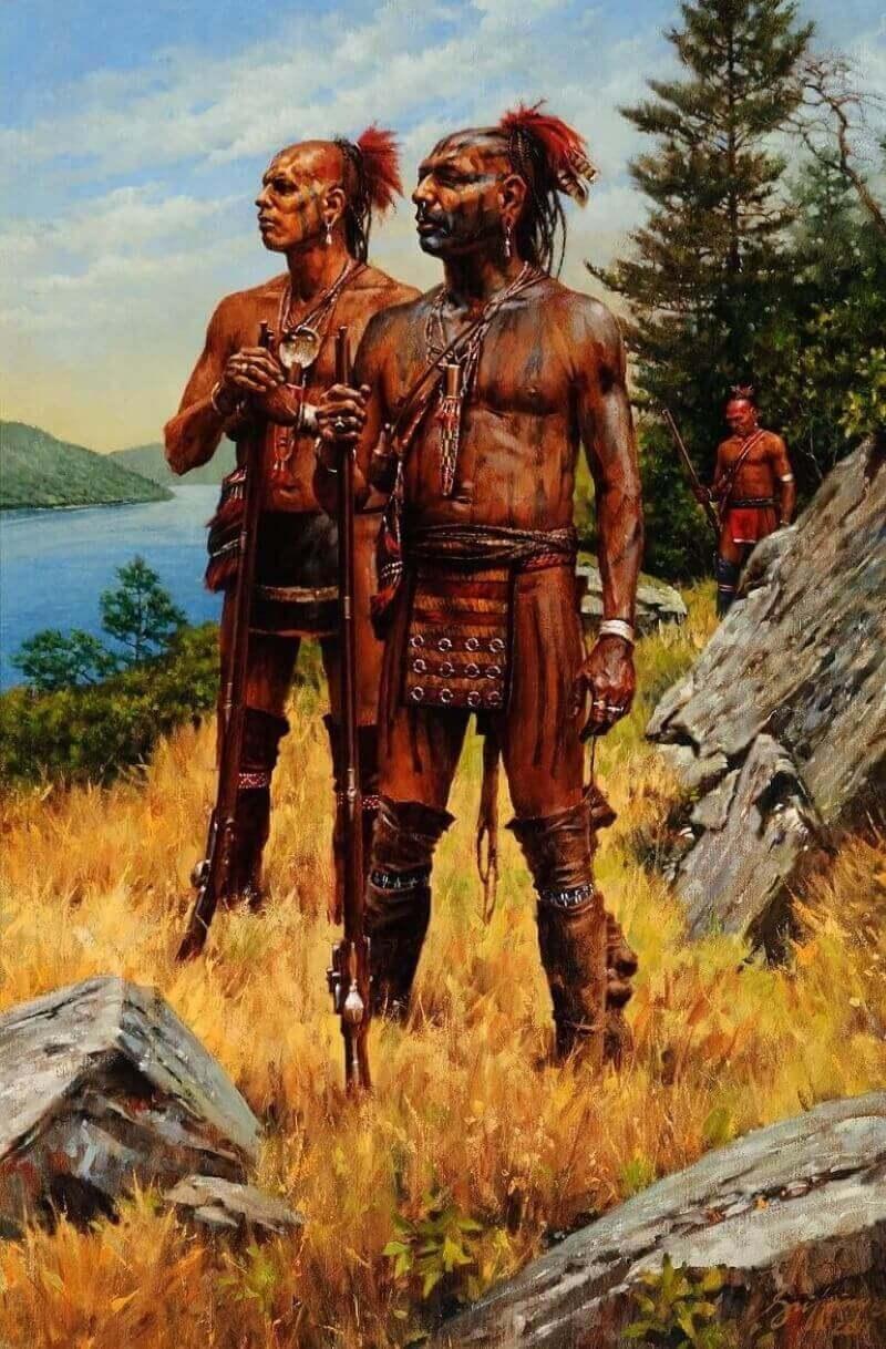 Роберт Гриффин «Ирокезские воины», 2011 год