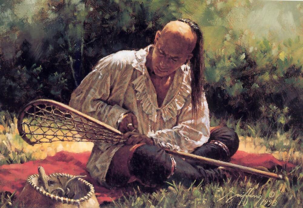 Роберт Гриффин «с ракеткой длялакрос»1998