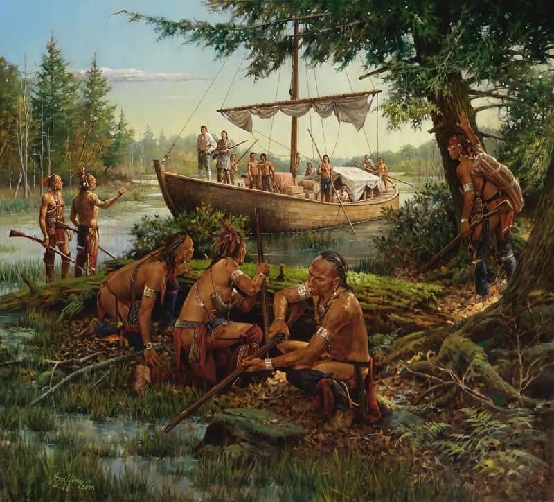 Роберт Гриффин «Индейцы ирокезы»