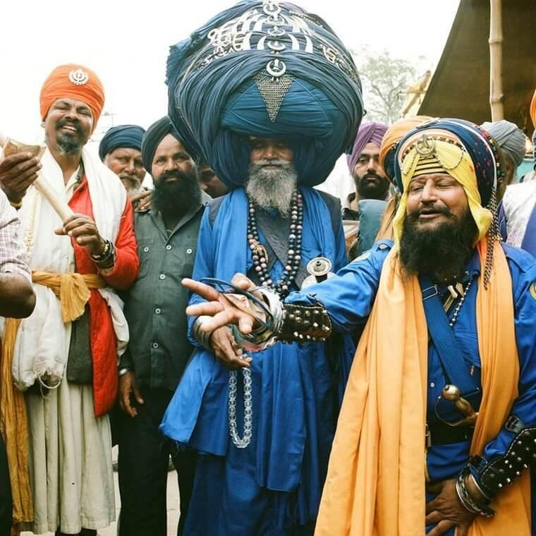 Сикхи - легендарные представители индийского народа
