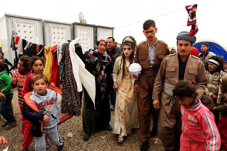 Свадьба иракских беженцев