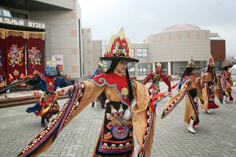 Цаган Сар - один из ярких калмыцких праздников