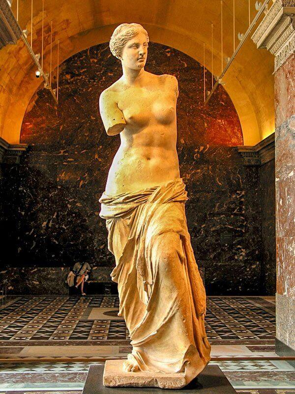 Венера Милосская - знаменитая скульптура богини