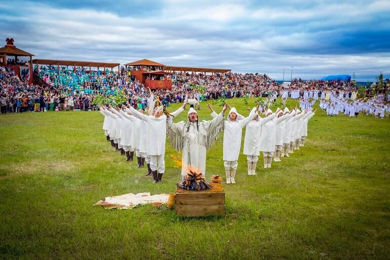 Ысыах называют якутским Новым годом