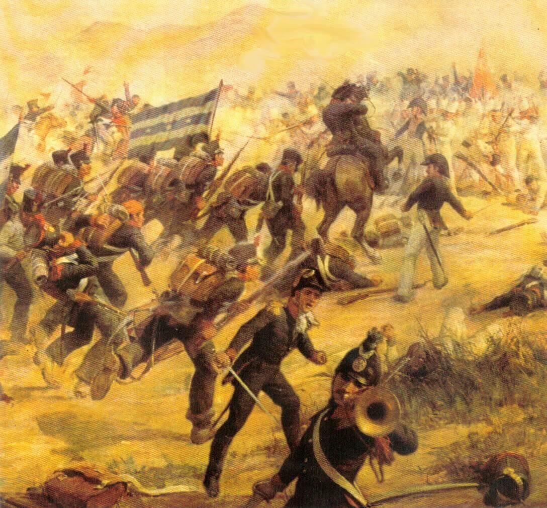 Битва при Камино Реал,Эквадор