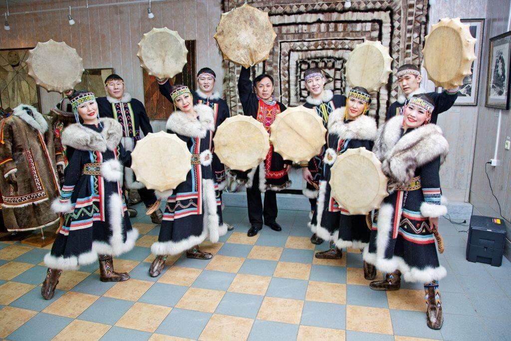долганский фольклорный ансамбль таймыр