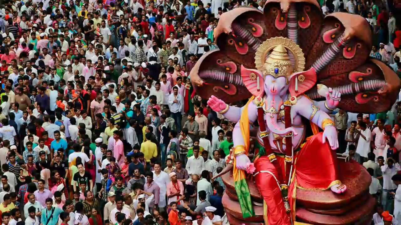 Маратхи Фестиваль Ганеша Чатуртхи