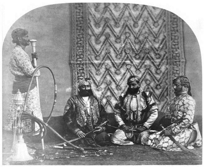 Изображение Гуджара Сардаров из Раджастана в британскую эпоху