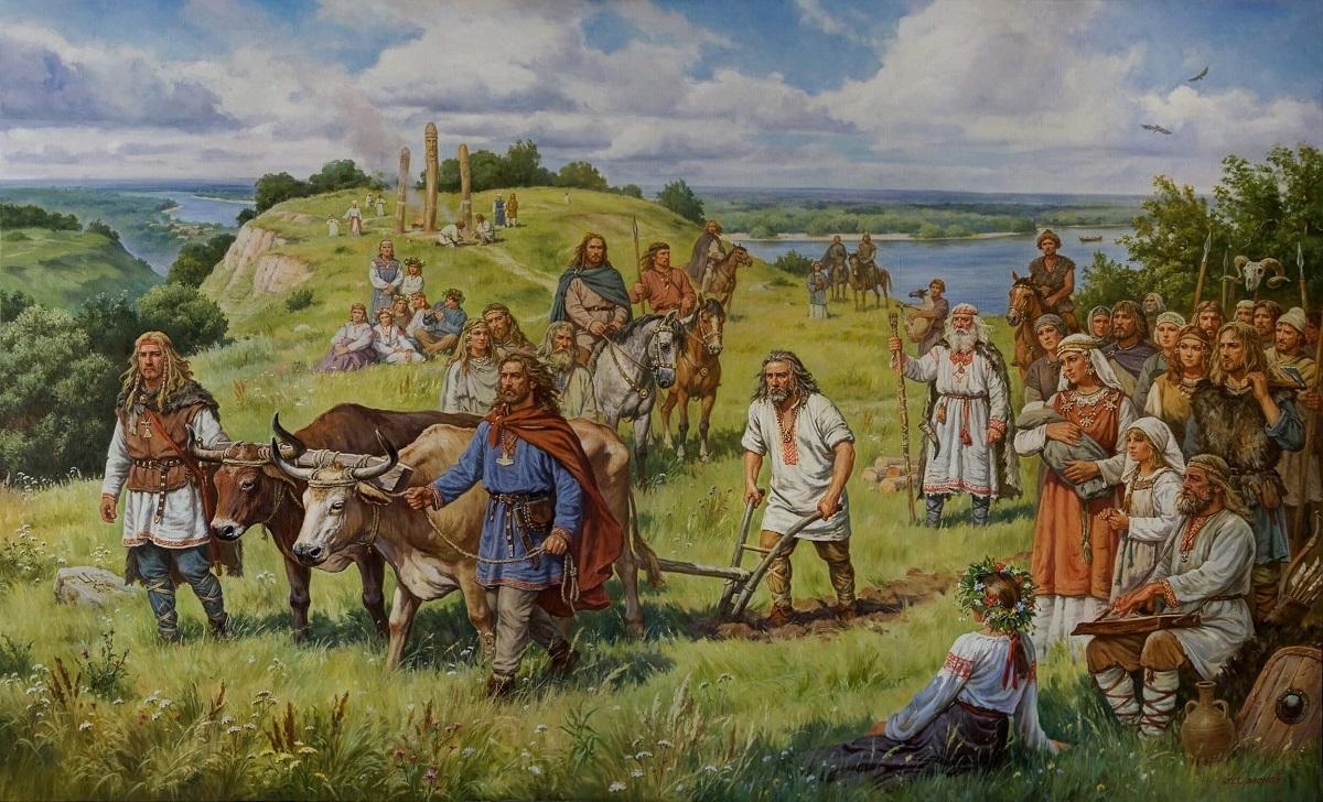 Кий, Щек, Хорив и Лыбедь основывают Киев в 482 году