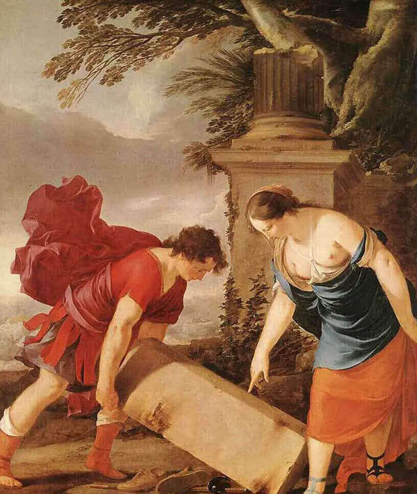Лоран де Ла Хайр Тесей и Аэсра