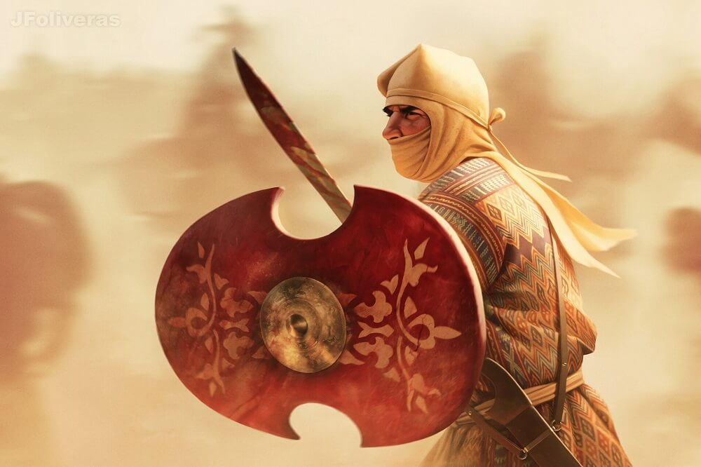 Персидский пехотинец
