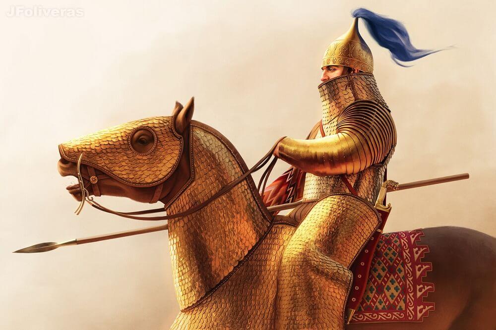 Персидский всадник