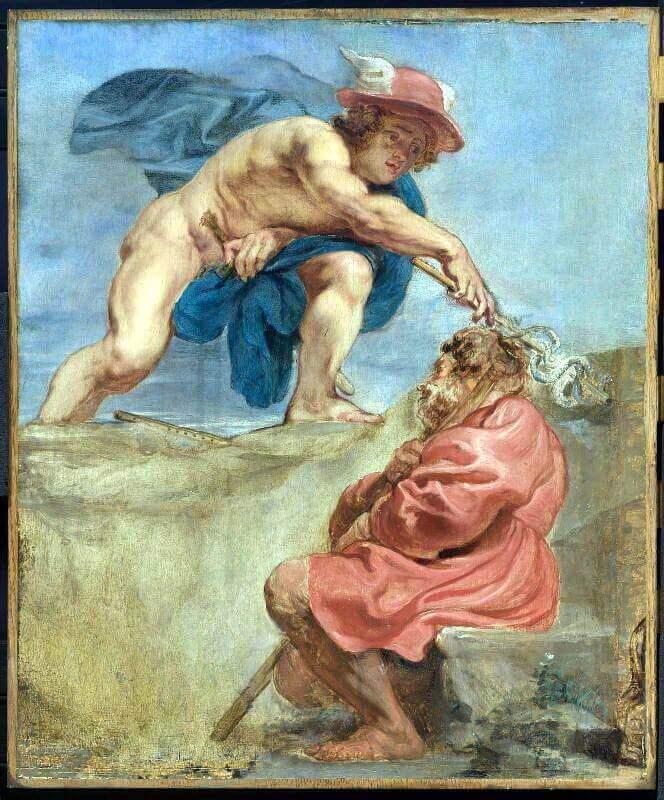 Питер Пауль Рубенс – Меркурий и спящий пастух