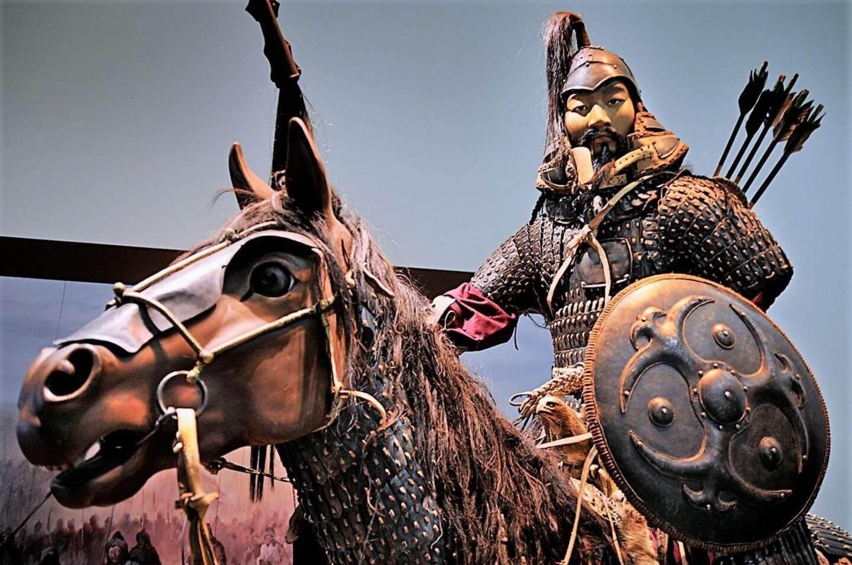 Реконструкция воина времён Монгольской империи
