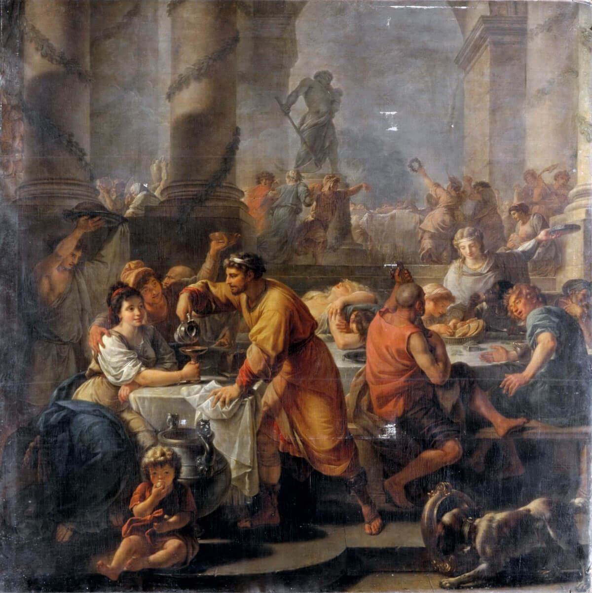 Сатурналии, 1783, Антуан-Франсуа Калле.