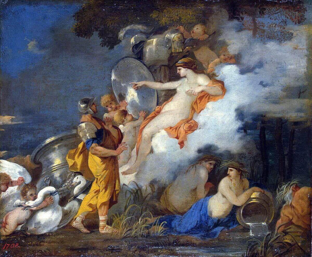 Себастьян Бурдон «Венера и Эней»