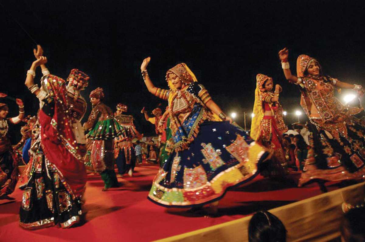 Танец Гуджарских девушек