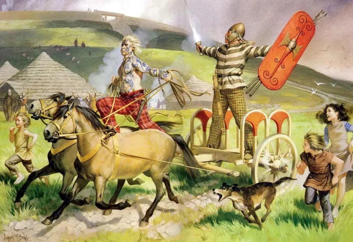 Валлийские воины