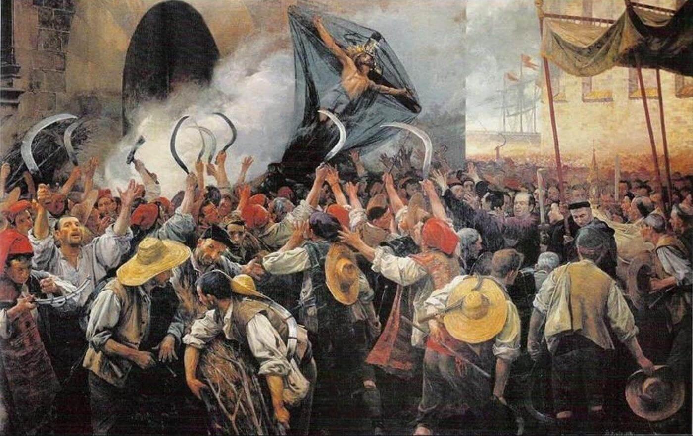 Восстание жнецов 1640 год