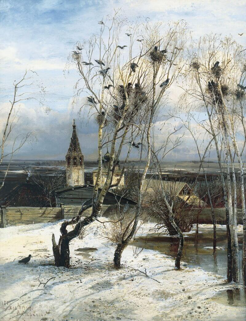 «Грачи прилетели» - картина русской души