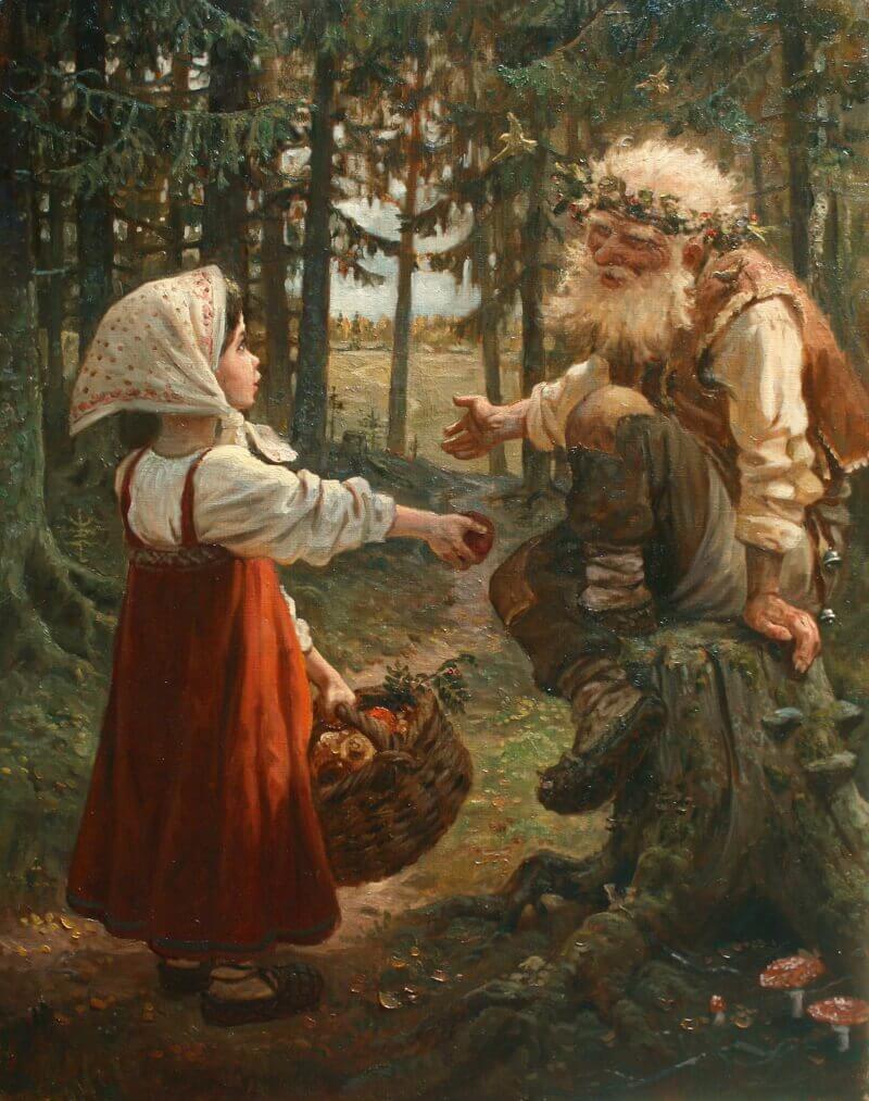 Андрей Шишкин «Чуть не заблудилась», 2015