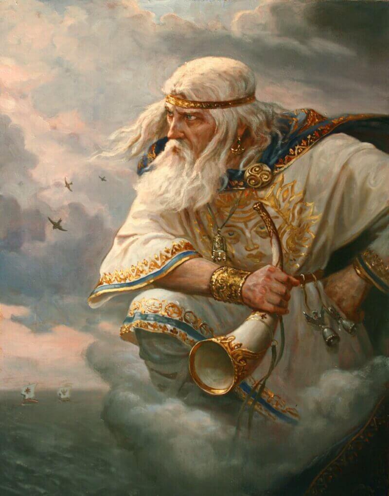 Андрей Шишкин «Стрибог - хозяин ветров», 2014 год
