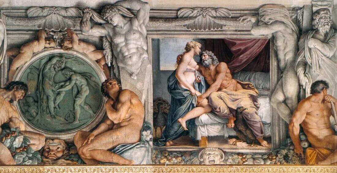 Аннибале Карраччи «Юпитер и Юнона»