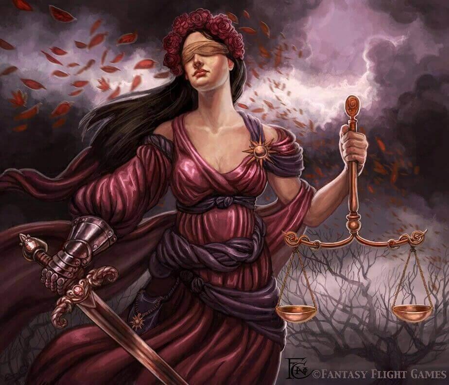 Богиня Фемида © Felicia Cano