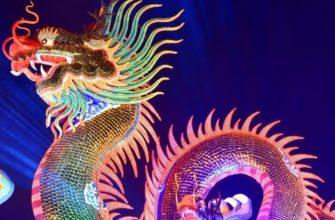 Дракон и Китайский новый год