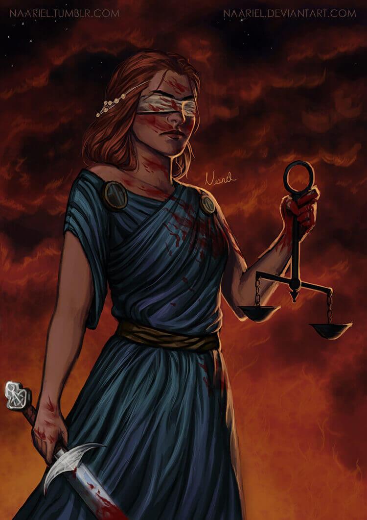 Фемида, греческая богиня правосудия