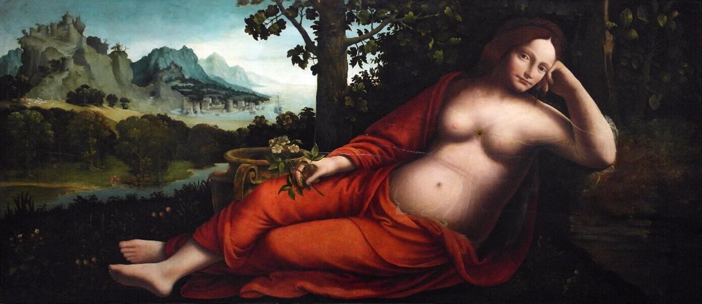 Франческо Мельци, Рея Сильвия, ок. 1530-40