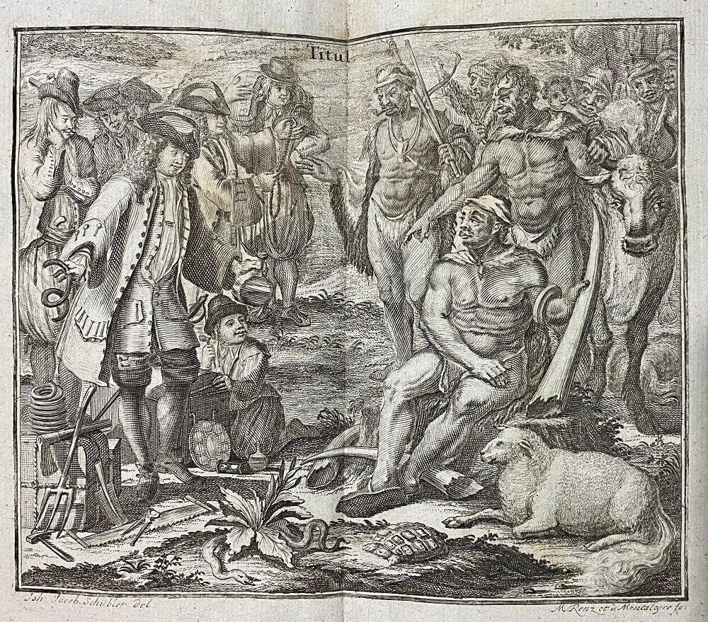 готтентоны (1745) Peter Kolbens